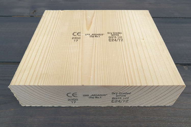 Structural timber (graded)
